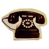 брошь-телефон