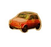 брошь-маленькая машина