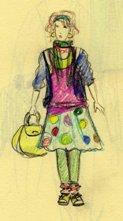 девочка-капустница